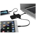 Hub USB Grid z dwoma kablami