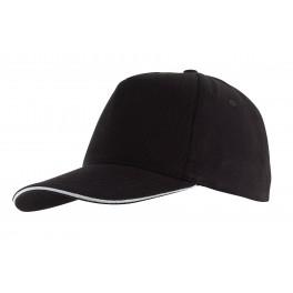 Czapka baseballowa WALK, czarny